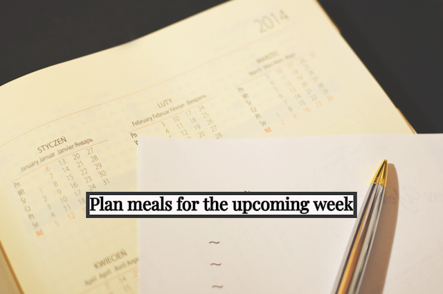 Sometimes it takes longer to decide what to cook than cooking itself. Add ingredients to the shopping list as you plan your menus.
