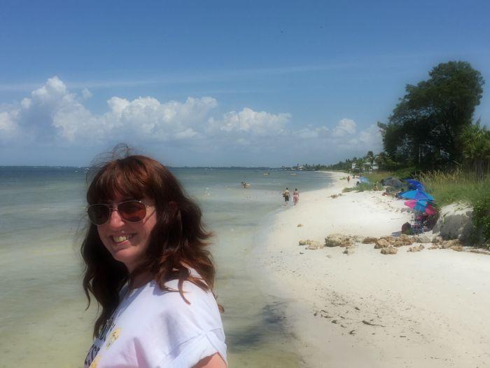 Dreaming of Retirement | Morgan's Milieu: Walking along the beach, Anna Maria Island