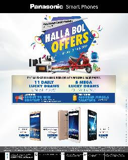 Panasonic Smartphones introduces 'Halla Bol Offers'