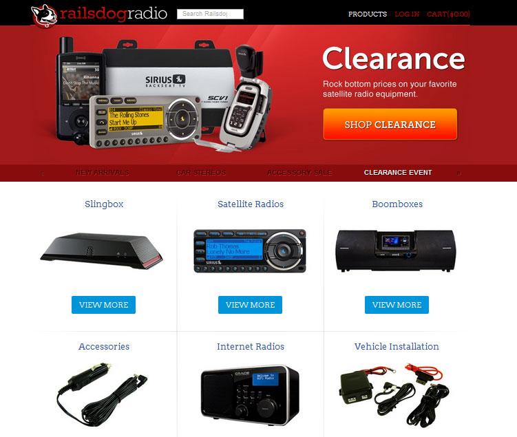 Spree, an free ecommerce platform in ruby rails