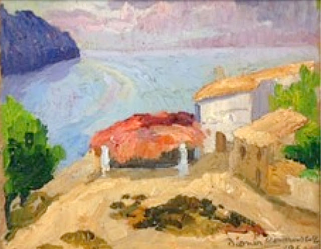 Dionís Bennássar, Cala San Vicent, Mallorca en Pintura, Paisajes de Mallorca, Mallorca Pintada