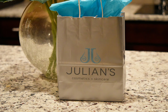Spring Into Green at Julian's Cosmetics & Skincare in Brookhaven  via  www.productreviewmom.com