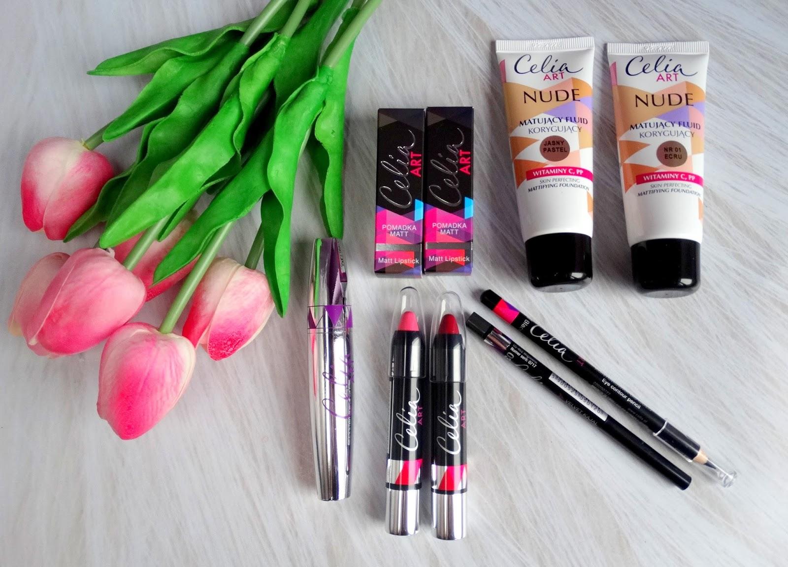 Nowości makijażowe Celia ART