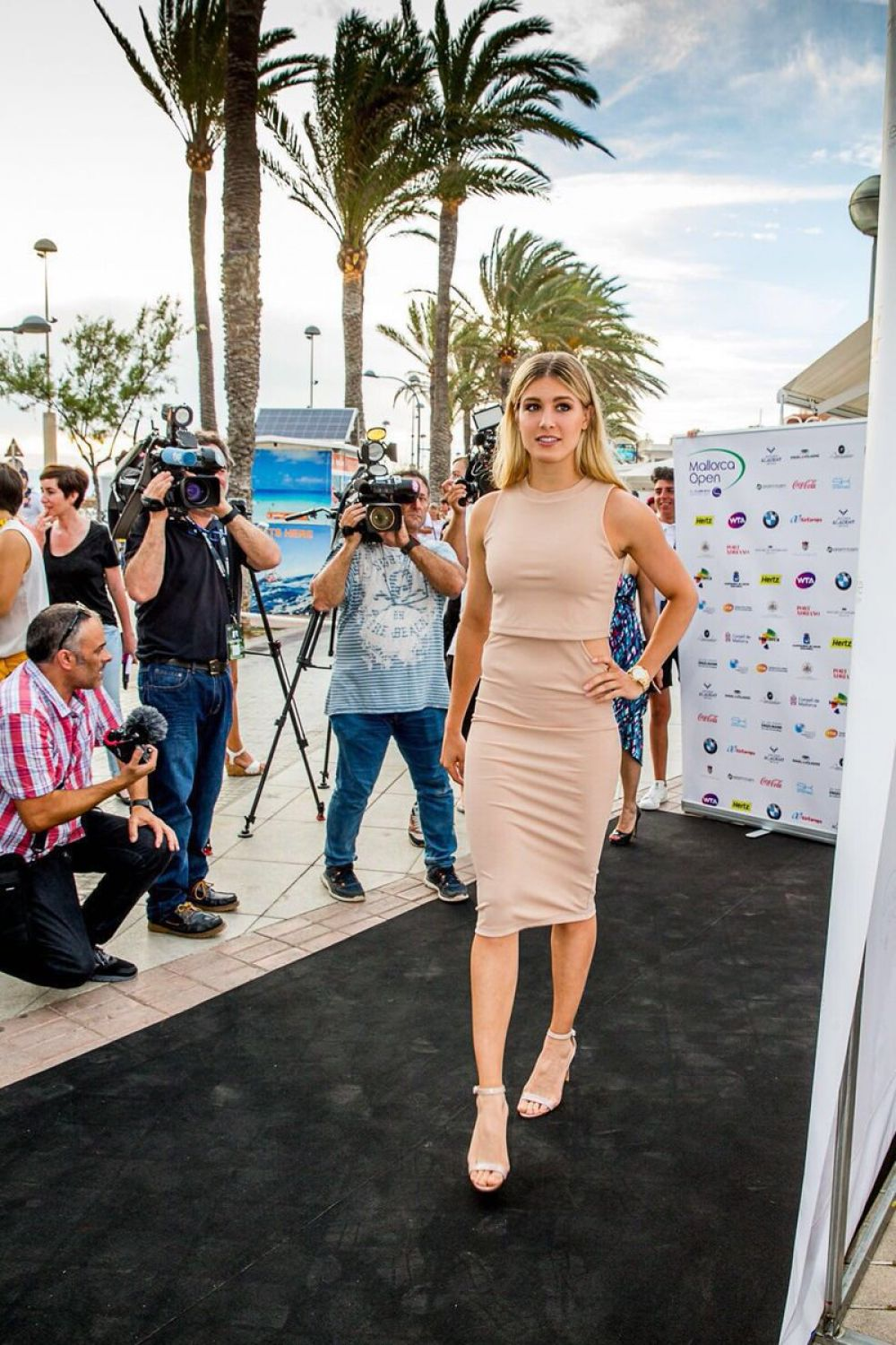 Eugenie Bouchard At Mallorca Open Tennis Opening Party In Palma De Mallorca