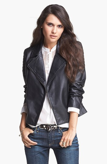 Nordstrom Sale: Leather Jacket for less than $100