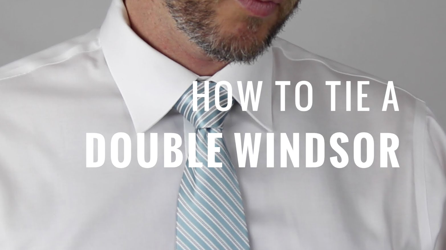 Download video how to tie a double windsor knot neckties bow tie a double windsor knot with help from a design and fashion expert in this free video ccuart Choice Image
