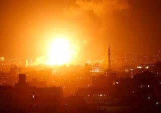بالاسماء سقوط 6 شهداء جراء الغارة التى شنها سلاح الجو الإسرائيلى مساء اليوم الأحد على خانيونس جنوب قطاع غزة