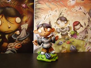 orme magiche modellini protagonista fumetto statuette sculture action figure personalizzate fatta a mano artibal celesta da colorare fumetti artigianato italiano
