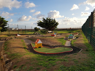 The Crazy Golf course at the MiniLinks in Lytham St Anne's