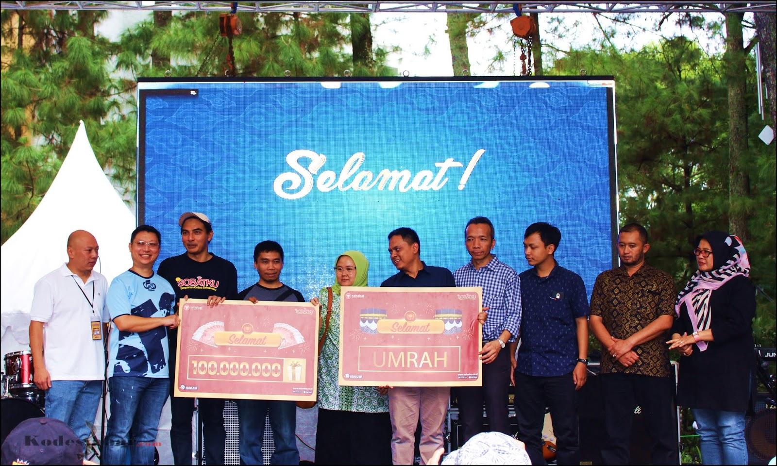 Pemenang Undian Grand Prize Sobatku di Bandung