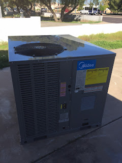 Midea gas rooftop package unit