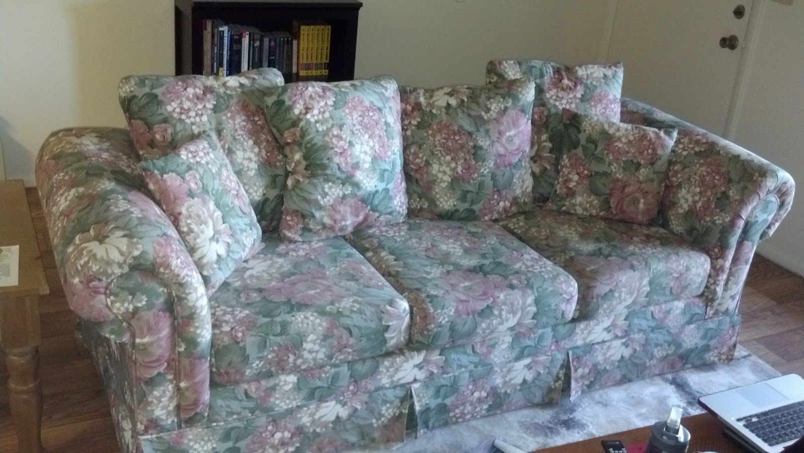 The Not So Pinterest Perfect Sisters Diy Sofa Reupholstery