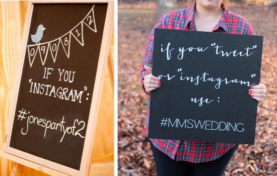 Dai un hashtag al tuo matrimonio, hashtag your wedding
