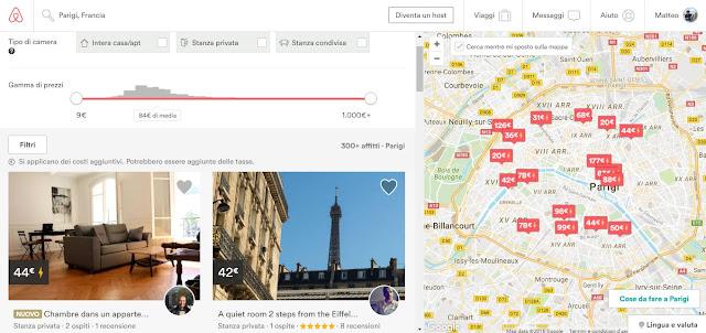 Viaggi low cost trovare l'alloggio airbnb