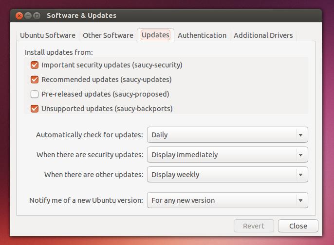 ubuntu repository