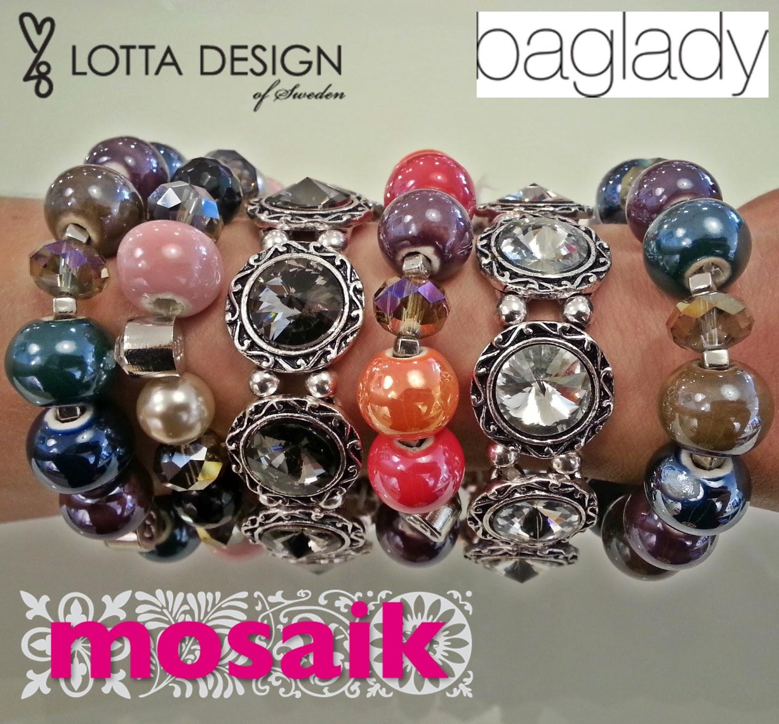 mosaik – mode • interiör: nya armband från lotta design & baglady