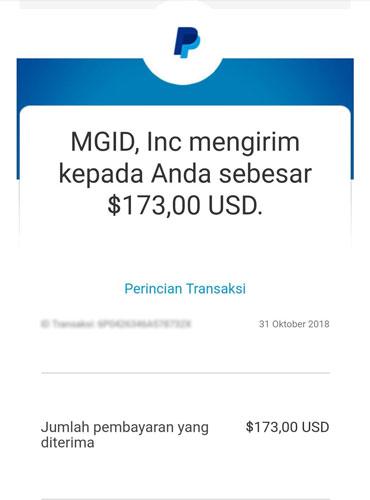 menghasilkan uang secara online dari mgid