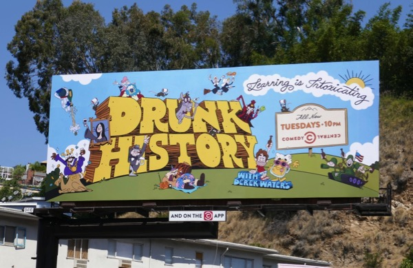 Drunk History season 5 part 2 billboard