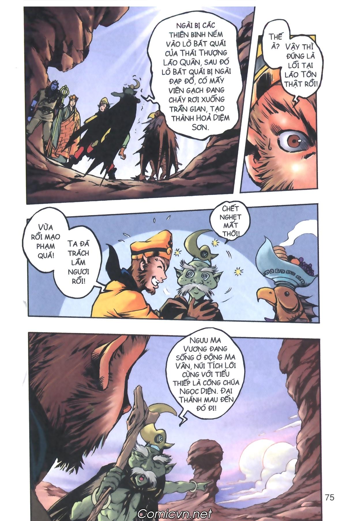 Tây Du Ký màu - Chapter 106 - Pic 30
