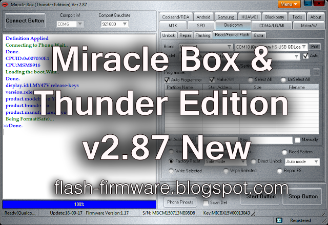 Download Miracle Box & Thunder Tool v 2 87 New Full Setup