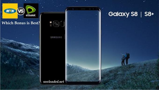 Etisalat and MTN Bonus Offers on Samsung Galaxy S8 & Galaxy S8 plus