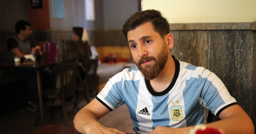 Soccer Fan In Iran Looks Dead Ringer For Lionel Messi