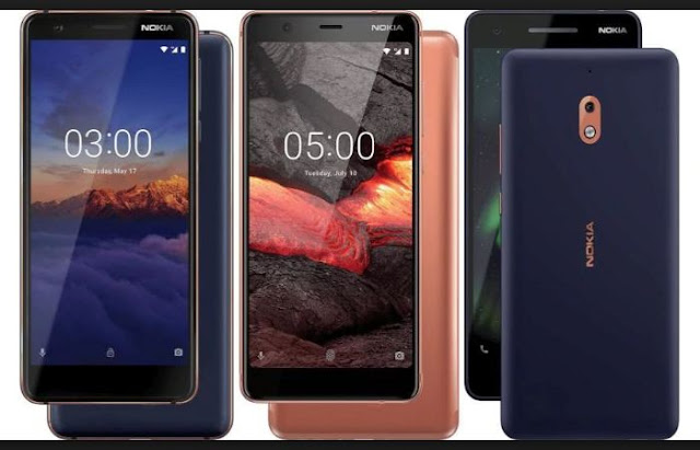 √ Nokia Launches Iii Novel Mid-Range Smartphones Inwards India