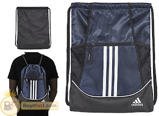 Adidas Alliance II Sackpack - Is What You Need For Your GYM
