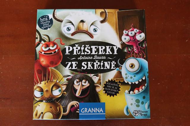 Recenze hry Příšerky ze skříně na blogu www.spoluhratky.eu