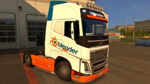 Blender Volvo 2012 skin