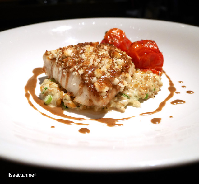 Cod Fish with Macadamia Crunch