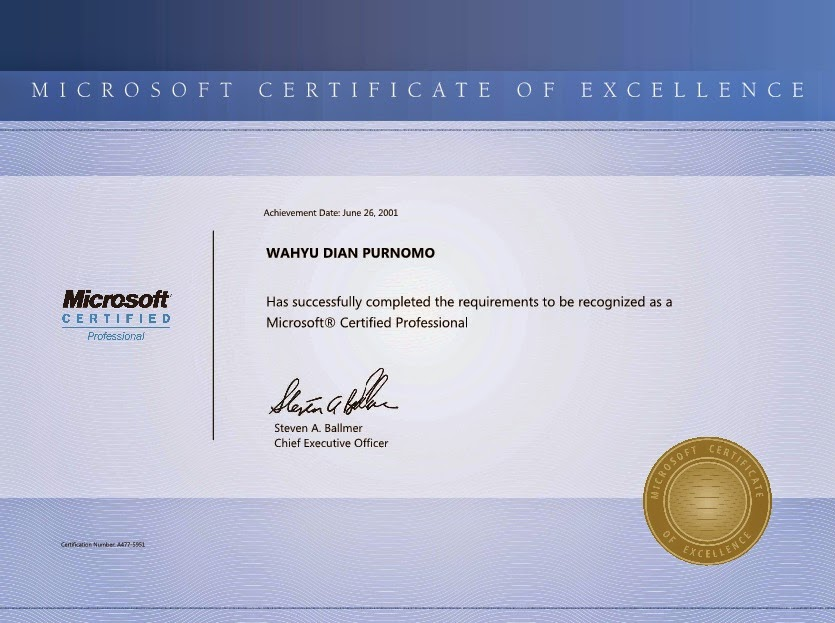 Microsoft Certified Professional (MCP), Windows Server