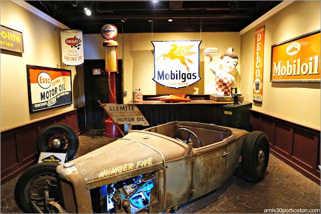 The Hinman Roadster en el Museo Larz Anderson de Brookline