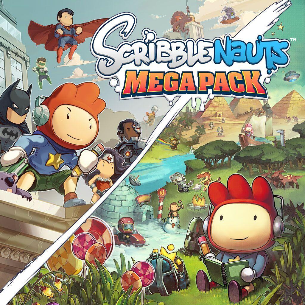 A GEEK DADDY: Scribblenauts Mega Pack