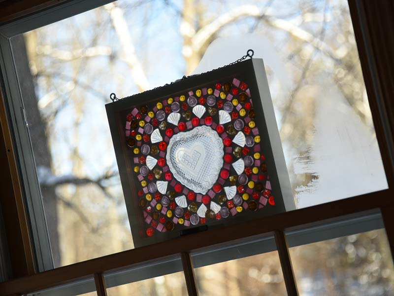 Valentine heart window by Jeanne Selep Imaging