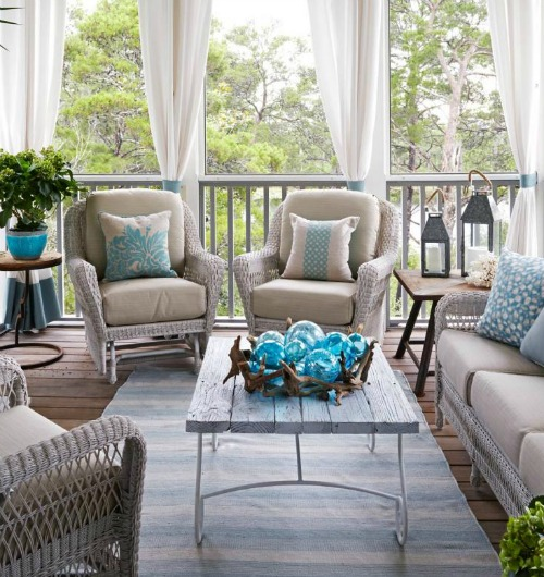 Grand Coastal Beach House Pastel Blue Amp Sandy Beige Decor Ideas Interior Design Diy