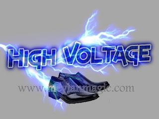 sepatu,sandal,selop,listrik,super,sakti,high voltage,hv