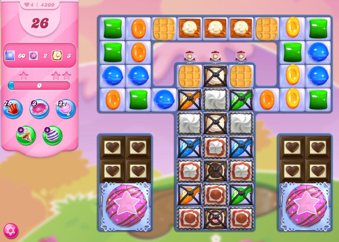 Candy Crush Saga level 4309
