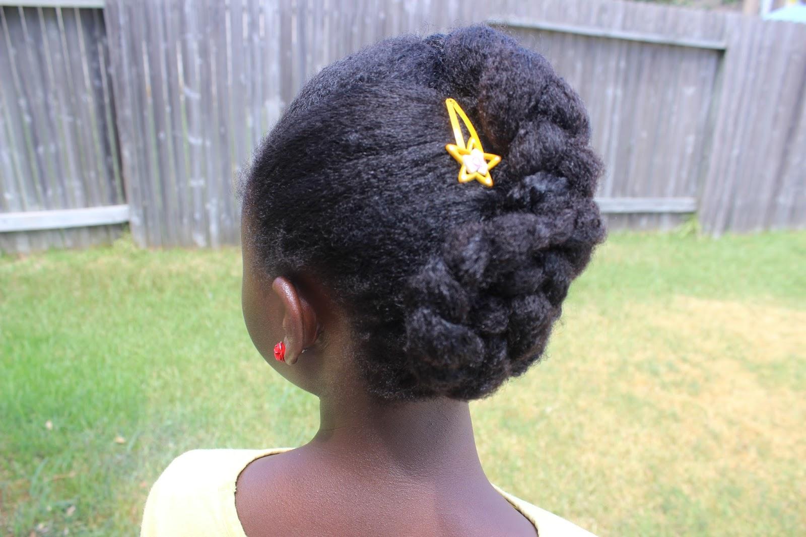 Swell Discoveringnatural Jumbo Braid With Pin Curl On Natural Hair Short Hairstyles Gunalazisus