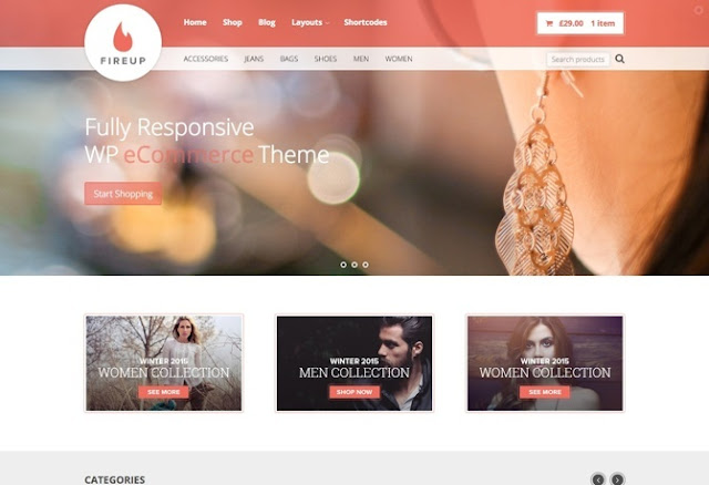 FireUp Premium WordPress Theme
