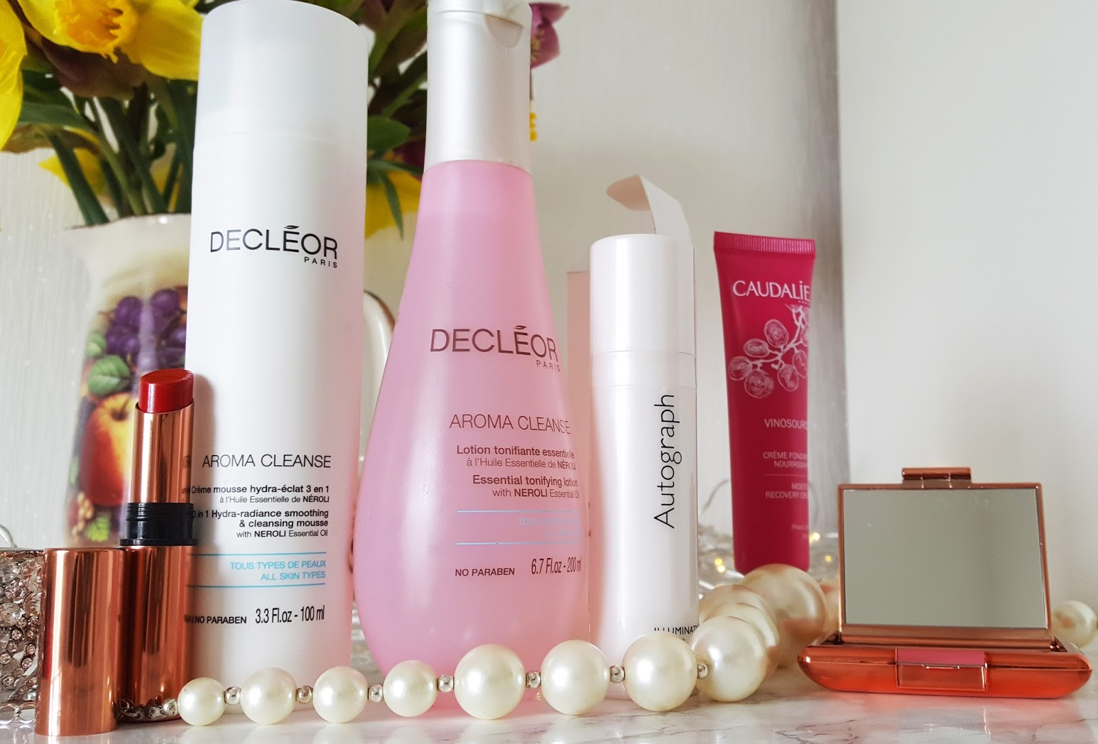 Decleor Aroma Clense 3 in 1 smoothing and cleansing mousse and M&S Autograph cream blusher are among the products tested by Is This Mutton? in February 2017