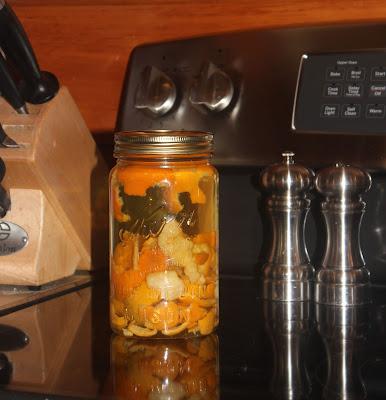 IMG 6024 - Homemade Orange Infused Vinegar