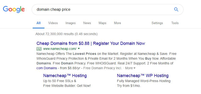 best domain registration provider, namsilo best cheapest domain provider