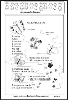 Poesia as borboletas