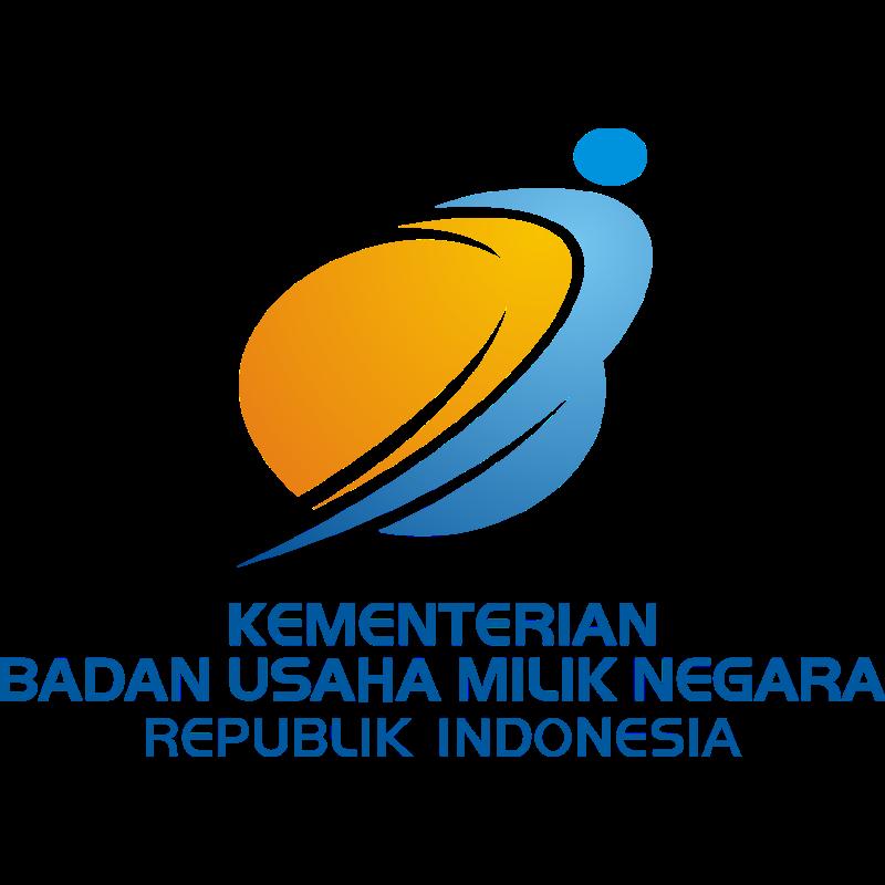 Logo Kementerian Badan Usaha Milik Negara Indonesia