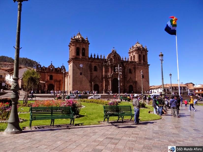 Plaza das Armas de Cusco - Roteiro - 7 dias no Peru