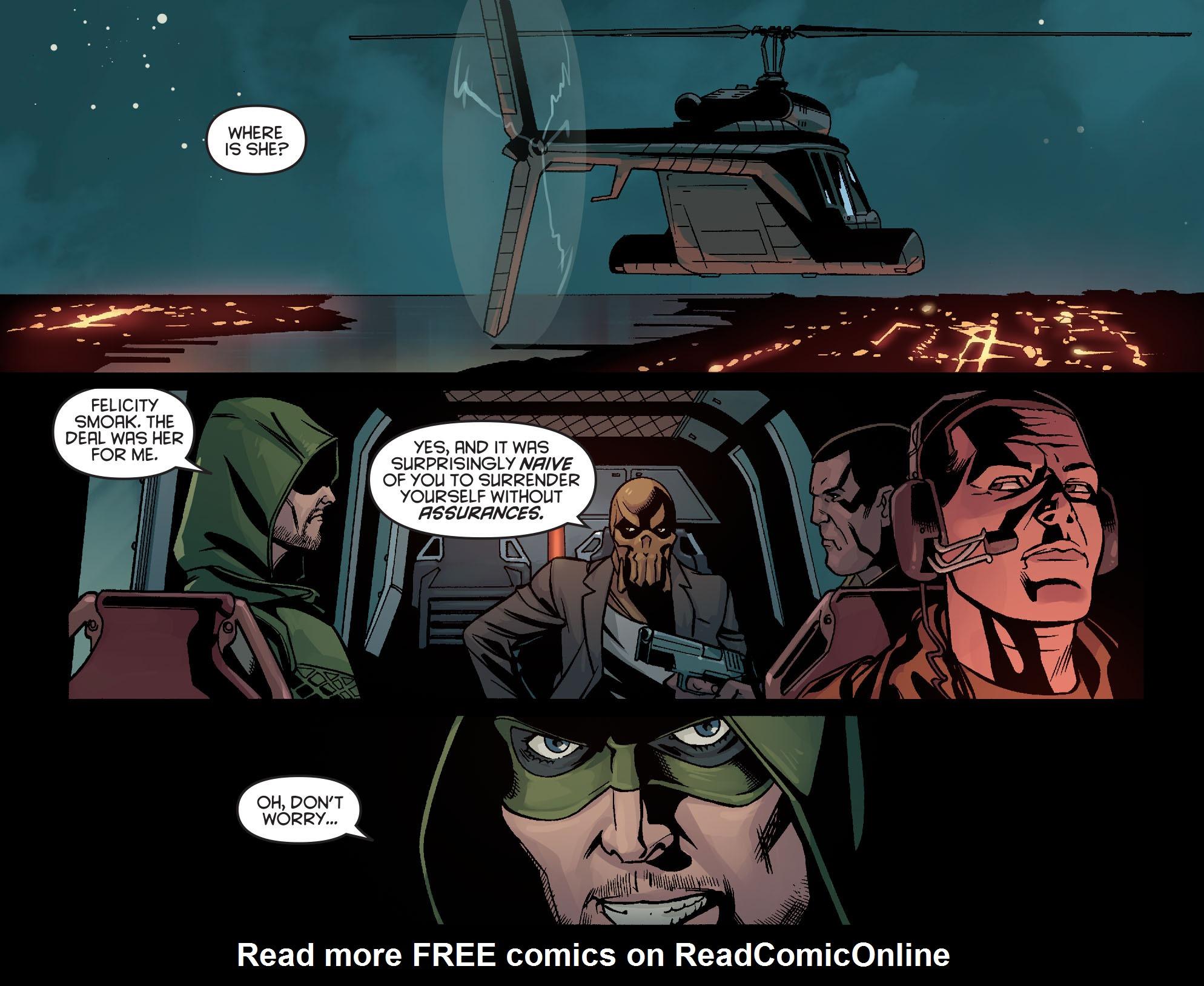 Read online Arrow: Season 2.5 [I] comic -  Issue #14 - 3