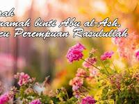 Kisah Umamah binti Abu al-Ash, Cucu Perempuan Rasulullah