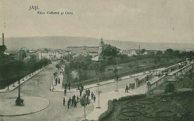 Rîpa Galbenã înainte de anul 1920 (carte poştalã)