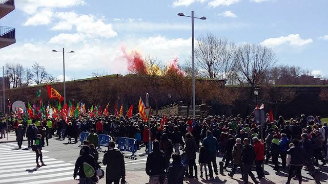 Aberri Eguna 2016 Ciudadela Pamplona (Actualización)